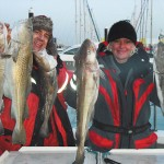 Cod Fishing  2nd January 2010