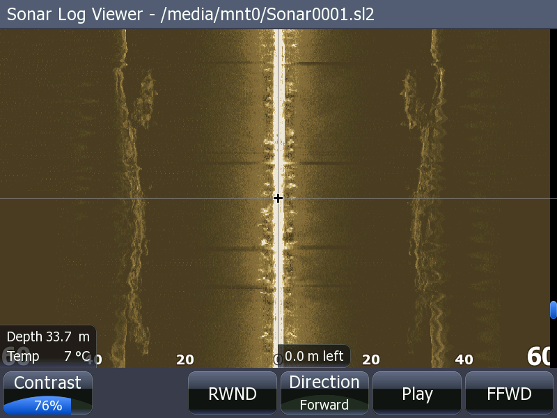 Lowrance StructureScan - Side Scan View