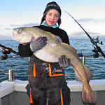 34lb Cod for Tyler Hallett