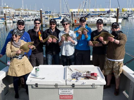 Team Buuilding Fishing Trip