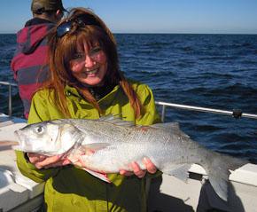 Reef caught Bass