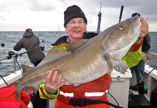 Another 20lb plus Cod