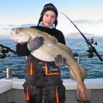 34lb Cod for junior angler Tyler Hallett