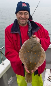 Brightly Spotted Plaice