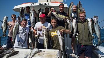 Deep Sea Wreck Fishing Trips