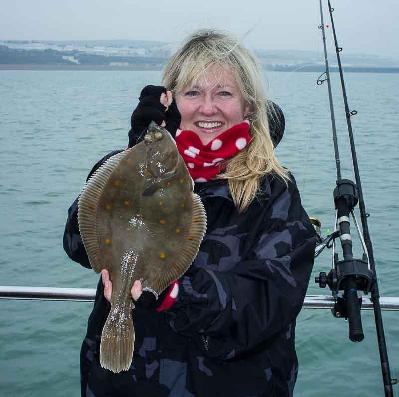 Early Season Plaice Fishing