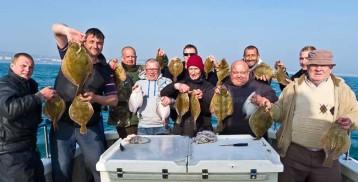 ground fishing Plaice fishing