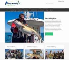 new website brighton charter fishing