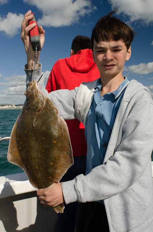 Plaice Fishing - Half Day 4 Hour Trip