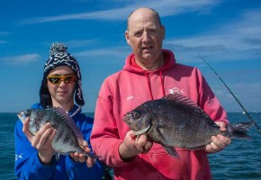 reef and ground fishing trips