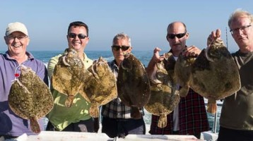 Turbot Fishing and Brill Fishing Trips
