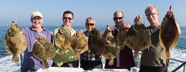 Turbot fishing Brill fishing trips
